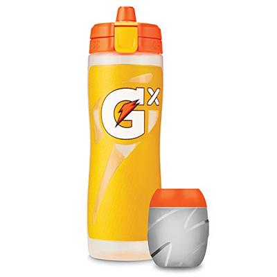 Gatorade Gx Bottle, Yellow with Gx Pods, Glacier Freeze, Thirst Quencher Concentrate