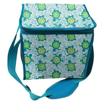Coastal Home Sea Turtle Collapsible Cooler Tote