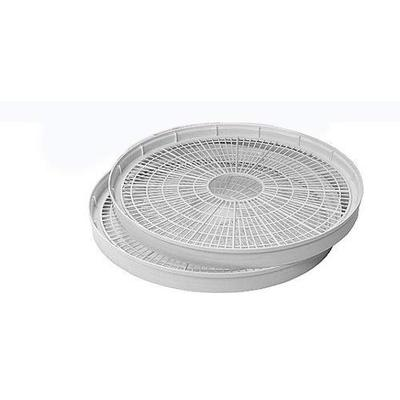 Nesco, White, WT-2, Add-a-Tray for Dehydrators FD28JX and FD-35, Set of 2