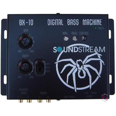 Soundstream BX-10 Digital Bass Reconstruction Processor with Remote,Black