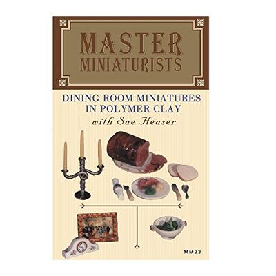 MM23: Dining Room Miniatures in Polymer Clay