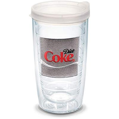 Tervis Coca-Cola Insulated Tumbler, 16oz - Clear Lid, Enjoy Diet Coke Emblem