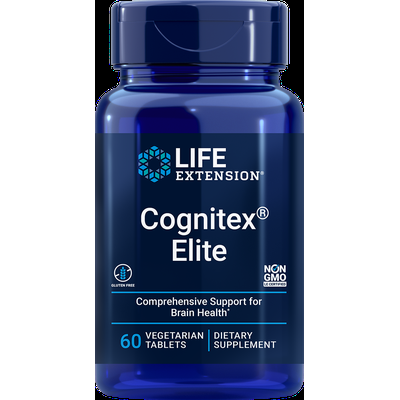 Cognitex® Elite, 60 vegetarian tablets
