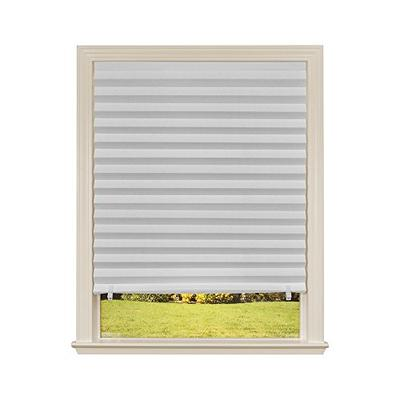 "Original Light Filtering Pleated Paper Shade White, 48"" x 72"", 6-Pack"