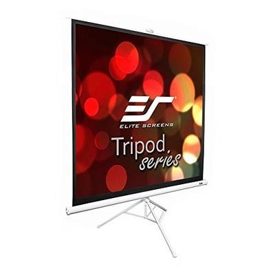 Elite Screens Tripod Series, 119-INCH 1:1, Adjustable Multi Aspect Ratio Portable Indoor Outdoor Projector Screen, 8K / 4K Ultra HD 3D Ready, 2-Year Warranty, T119NWS1