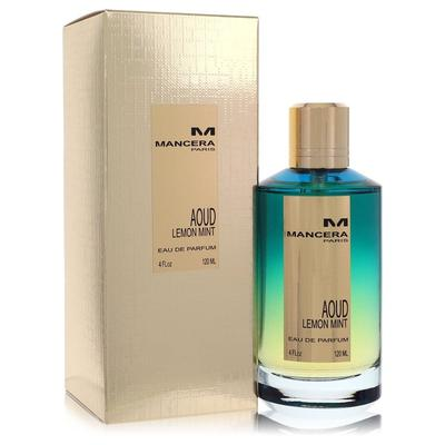 Mancera Aoud Lemon Mint For Women By Mancera Eau De Parfum Spray (unisex) 4 Oz