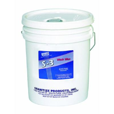 TR Industries S-3/5 Granitize S-3 Auto Wash and Wax with Carnauba - 5 Gallon