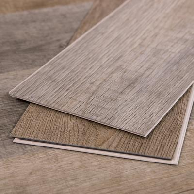 Gray Vinyl Plank Flooring, Rapid-Locking System, Cali Vinyl Sample