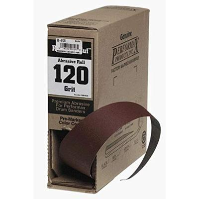 Jet 120-Grit Ready-To-Cut Abrasive Sandpaper (60-9120)