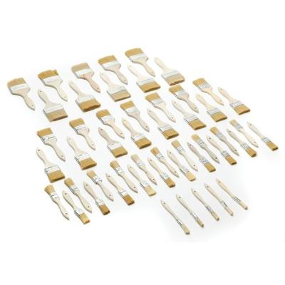 Woodstock D2025 Synthetic Bristle Brush Set, 50-Piece