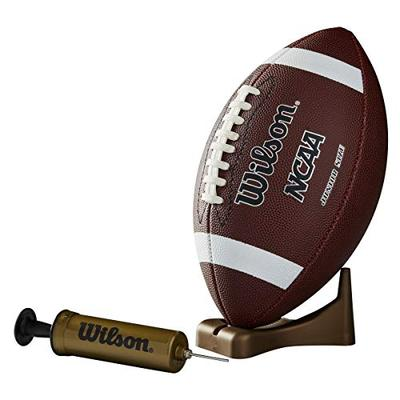 Wilson NCAA Supreme Junior Football with Pump & Tee