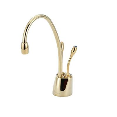 InSinkErator Contemporary Instant Hot and Cold Water Dispenser - Faucet Only, French Gold, F-HC1100FG