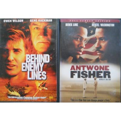 Antwone Fisher & Behind Enemy Lines (Full Screen Edition)