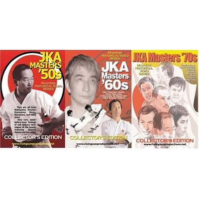 JKA Masters - 3 DVD Set