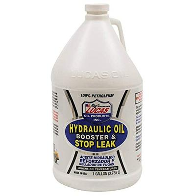 LUCAS 10018 Hydraulic Oil Booster with Stop Leak, 1 Gallon, Brown