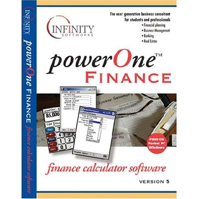 Infinity Softworks powerOne Finance for Handheld v5