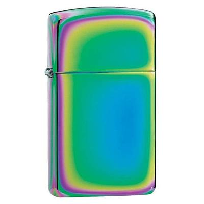 Zippo Slim Spectrum Pocket Lighter, One Size