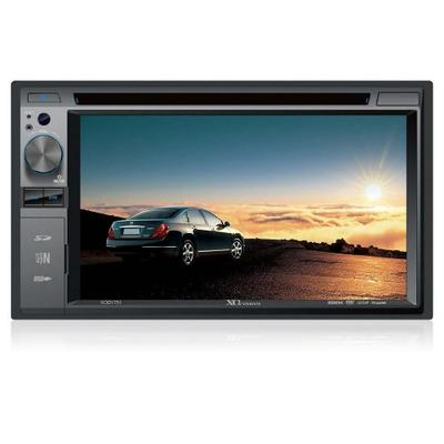 XO Vision XOD1751 6.2-Inch in-Dash Touchscreen DVD Receiver with SD Card Slot and USB Input