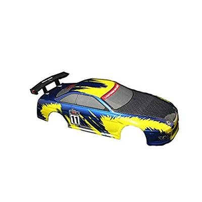Redcat Racing Road Car Body (1/10 Scale), Blue/Yellow