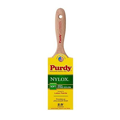 Purdy 144380225 Nylox Series Sprig Flat Trim Paint Brush, 2-1/2 inch