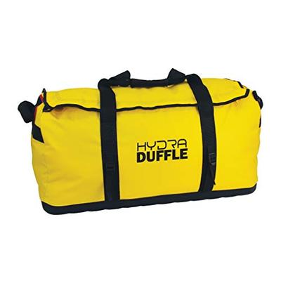 Texsport Sportsmans Hydra Water Resistant Travel Luggage Sports Gym Bag Duffel Duffle , Yellow, 23-1/2'' x 12'' x 12''