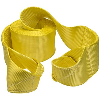 "KEEPER 02963 6"" x 30' Vehicle Recovery Strap with Loops, 60,000 lb Web Capacity , Yellow"