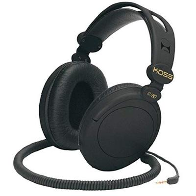 Koss 154336 R-80 Over Ear Headphones, Black