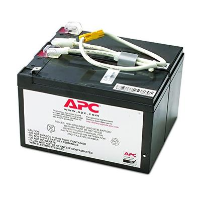 APC UPS Battery Replacement, RBC5, for APC Smart-UPS Models SU700, SU700BX120, SU700NET and select others BLACK
