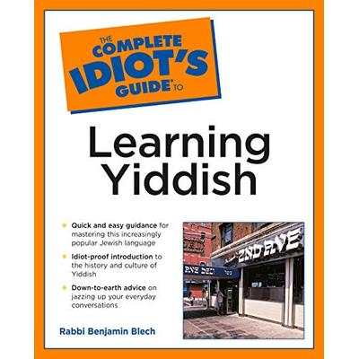 Complete Idiot's Guide to Learning Yiddish (Complete Idiot's Guides (Lifestyle Paperback))