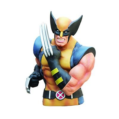 Marvel Wolverine Masked Bust Bank Multi-colored, 4""