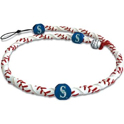 MLB Seattle Mariners Classic Frozen Rope Baseball Necklace