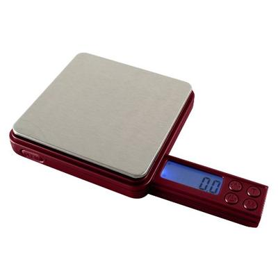 American Weigh Scales Burgundy Blade Series Digital Pocket Scale, 50 by 0.01 G