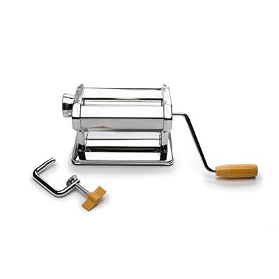 Fox Run 57666 Pasta Maker Machine/Roller, Stainless Steel, 8 x 14 x 6.5 inches