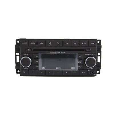 Genuine Jeep Accessories 5064950AH AM/FM Stereo Radio with Six-Disc CD/DVD Player