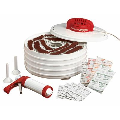Nesco JerkyXpress dehydrator, 14 inches X 9.75 inches, White