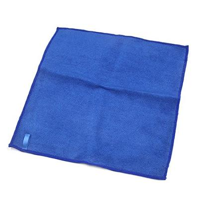 uxcell Clean Clay Design Microfiber Auto Car Towel Drying Washing Cloth Blue 12.6 inches x 12.6 inches