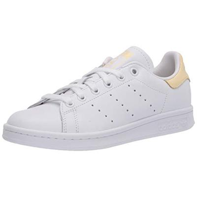 adidas Originals mens Stan Smith Sneaker, Footwear White Footwear White Easy Yellow, 6.5 US