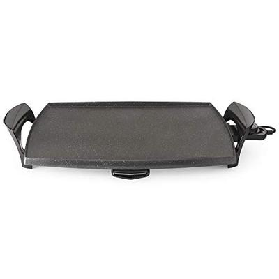 Presto Durarock 07056 22' Griddle, 22 Inch, Black/Gray