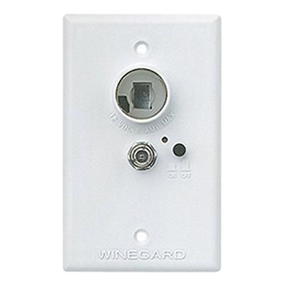 Winegard RA-7296 Wall Plate Signal Amplifier