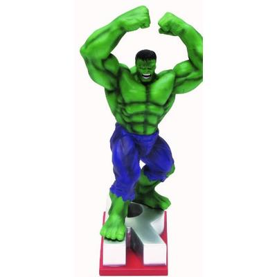 "Marvel Resin Figures - Hulk on Letter Base ""R"""