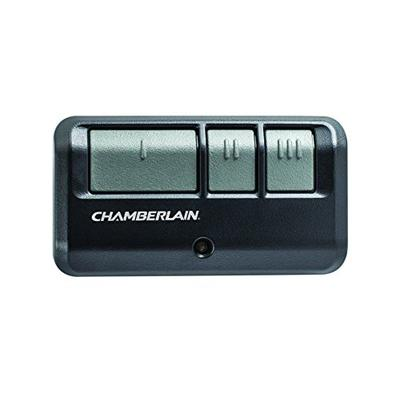 Chamberlain Group G953EV-P2 Chamberlain/LiftMaster/Craftsman 953EV-P2 3-Button, Security +2.0 Compatible, Includes Visor Clip Garage Door Opener Remote , Black , Small